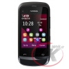 Nokia C2-02 Touch and Type Chrome Black