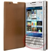 Luxury BlackBerry flipové pouzdro pro Passport Brown